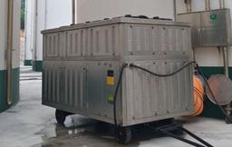 筒仓及平房仓谷物冷却机使用现场